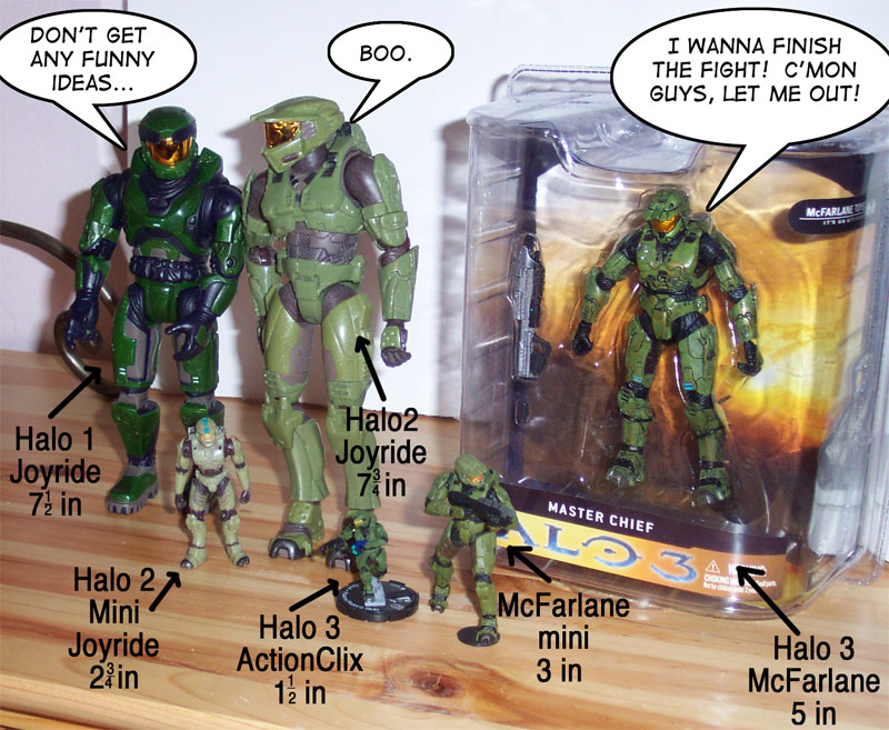 Master Chief Evolutions