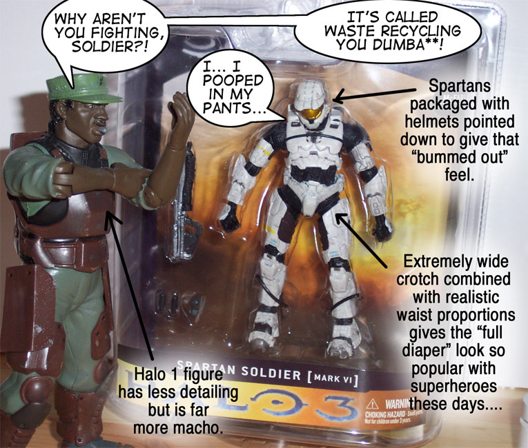 Sergeant Johnson and the White Spartan