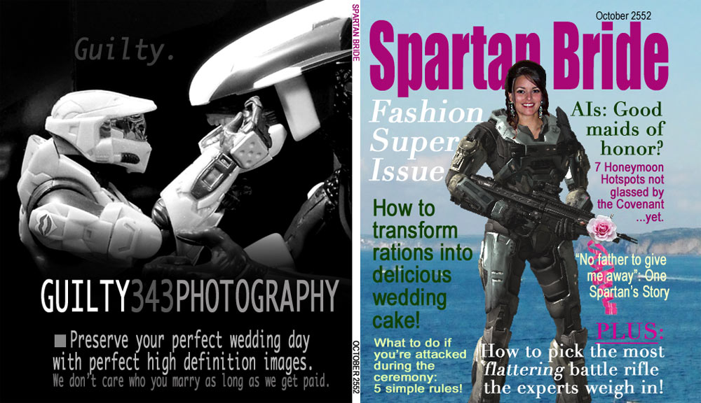 Spartan Bride Magazine Cover